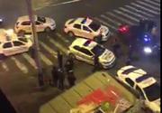 Reglare de conturi intre doua clanuri mafiote pe Calea Mosilor. Peste 12 masini de politie au sosit la fata locului