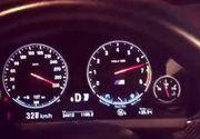 VIDEO Un pitestean s-a filmat in timp ce gonea cu 320 km/h pe Autostrada Soarelui! Gestul vine la nici zece zile de la tragicul accident de pe A2