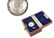 Ceasul de buzunar al lui Mihai Eminescu a fost vandut la licitatie. Acesta este unicat si a fost oferit cadou poetului de Junimea