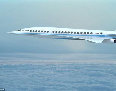 Cum arata avionul supersonic de pasageri care ajunge in 3 ore din Europa la New York!...