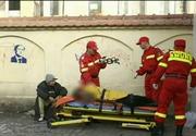 Cazuri uluitoare in Romania. Oameni ai strazii lasati sa sufere in fata spitalelor. Sunt ignorati, desi au nevoie de ingrijiri