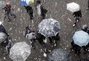 Informare meteo: Vremea se raceste si vor fi precipitatii ce se vor transforma in lapovita si ninsoare