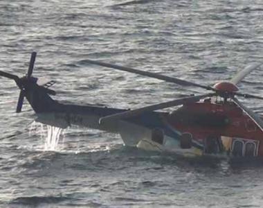 Un elicopter s-a prabusit in mare. Toate persoanele de la bord au decedat