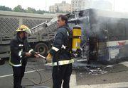 Autocar romanesc rasturnat in Italia; opt persoane au fost ranite