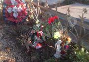 Parintii lui Ionut Anghel au inceput sa impodobeasca mormantul micutului cu decoratiuni de Craciun! Foto exclusiv!