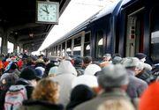 Vesti bune pentru calatori: CFR va suplimenta numarul de vagoane cu ocazia Zilei Nationale. Vezi care sunt rutele vizate