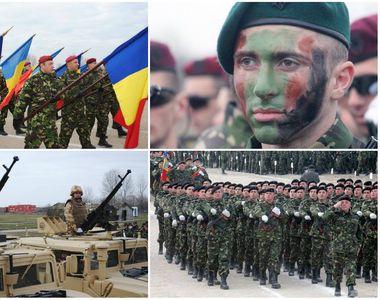 La multi ani, Romania! Parada militara din Piata Arcului de Triumf s-a incheiat! Mii de...