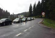Aglomeratie pe Valea Prahovei. Se circula in coloana intre Sinaia si Busteni. Traficul este intens si in judetul Alba, pe DN1