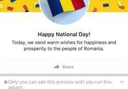 Surpriza pregatita de Facebook pentru fiecare roman! Ce a aparut pe paginile de socializare ale romanilor azi