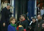 Trenul Regal si-a incheiat calatoria simbolica de 1 Decembrie la Sibiu. Iata cum au fost primiti principesa Margareta si princiepele Radu
