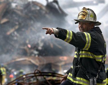 Incendiu puternic la groapa de gunoi Glina. Flacarile au curprins aproape 6.000 de...