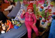 Surprize pentru Nicoleta, fetita de 5 ani crescuta de bunici. A primit daruri de la cativa oameni cu suflet chiar de ziua ei