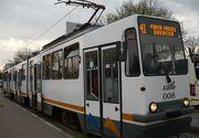 Circulatia pe linia tramvaiului 41 din Capitala este blocata, dupa ce o femeie a fost lovita de tramvai