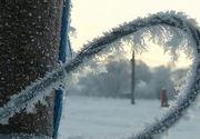 S-a inregistrat cea mai friguroasa noapte de pana acum. In centrul tarii au fost minine de -17 grade! Cum vor fi zilele urmatoare