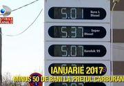 Preturile la carburanti vor scadea in ianuarie. Cui i se datoreaza ieftinirea din 2017