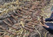 Douazeci de bombe din cel de-al doilea Razboi Mondial, descoperite langa un teren de sport din Galati