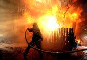 Constanta: O batrana de 80 de ani a murit, dupa ce casa in care locuia a luat foc. Jarul din soba a cauzat incendiul