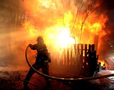 Constanta: O batrana de 80 de ani a murit, dupa ce casa in care locuia a luat foc....