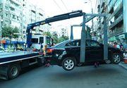 Seful Directiei Rutiere: Ridicarea masinilor de pe carosabil se va face de catre un serviciu public al Primariei, la cererea Politiei