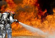 Ilfov: Incendiu la o vila din Voluntari, o femeie scoasa din casa in stop cardio-respirator fiind resuscitata