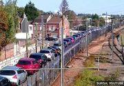 Ideea geniala de la Transporturi pentru a evita aglomeratia spre munte: sa urce masinile in tren si sa construiasca rampe la Bucuresti si Brasov.