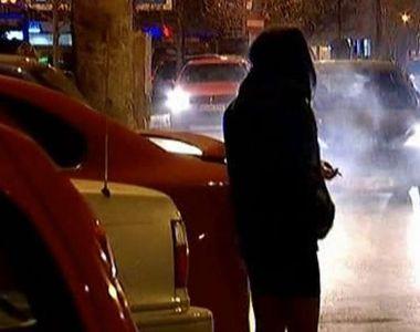 Prostituatele de pe centura Capitalei tremura de frig, dar nu renunta la munca:...