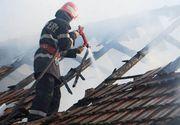 Incendiu in Buzau! O persoana a murit si alte patru, intre care un copil, grav ranite