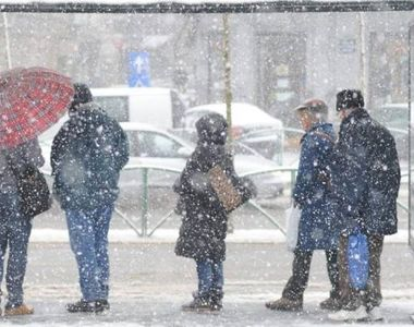 Prognoza meteo: un val de aer polar loveste Romania de Revelion. Cum va fi vremea in...