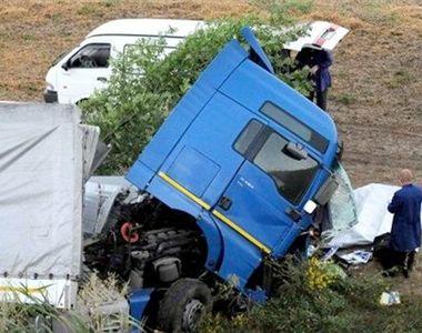 Cod rosu de interventie la Vaslui. Accident grav intre un microbuz plin cu pasageri si...