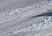 Riscul producerii de avalanse in Muntii Fagaras si Bucegi a crescut