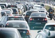 Trafic rutier ingreunat pe DN1, intre Ploiesti si Brasov! S-au format coloane lungi de masini