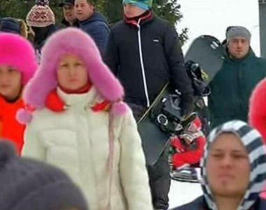 Moldovenii au dat navala in Poiana Brasov. Parcarile sunt pline de bolizi de lux. Iata...