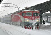 Ministerul Transporturilor: Numarul locomotivelor va fi dublat si vor fi pregătite vagoane de rezera, in perioada viscolului
