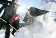 Amenzi usturatoare pentru cei care nu isi curata zapada din fata casei, blocului sau firmei
