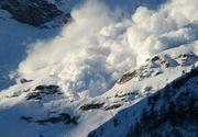 Risc mare de avalansa in masivele Fagaras si Bucegi, la altitudini de peste 1.800 de metri