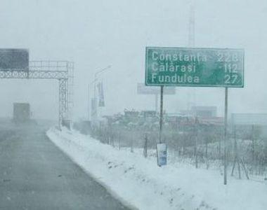 Surse: Traficul pe Autostrada A2 a fost inchis abia la patru ore dupa ce politistii au...