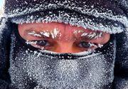 Cea mai geroasa noapte din aceasta iarna. S-au inregistrat -32 de grade la Intorsura Buzaului