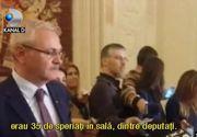 Scandal cat Casa Poporului in Parlamentul Romaniei! Deputatul Robert Turcescu s-a luat de presedintele Camerei, Liviu Dragnea