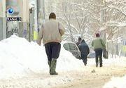 """Bucurestiul, paralizat dupa codul galben de ninsoare: """"Se circula pe mijlocul drumului"""""""