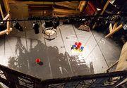Teatrului Evreiesc de Stat a fost avariat de zapada. Apa a patruns prin tavan si a inundat scena!