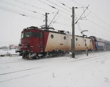 CFR Calatori a anulat 37 de trenuri, majoritatea dintre ele deservind zona de est a tarii