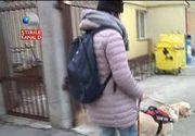 Caz incredibil la Cluj. A fost data afara dintr-un magazin, din cauza cainelui care era ghid pentru nevazatori. Motivul: animalul era murdar