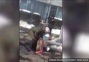 Ireal! Un echipaj al Politiei din Vrancea a dat cu masina peste o femeie care astepta autobuzul in statie
