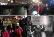 Proteste masive in toata tara. Klaus Iohannis, in mijlocul multimii. S-au adunat aproape 20.000 de persoane in strada. Bd.Magheru, blocat de protestatari. Mesajul presedintelui catre manifestanti