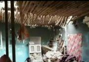 Explozie puternica intr-o locuinta din Medgidia. Proprietara locuintei a fost strivita sub tavan
