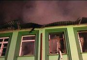Incendiul de la Spitalul de Psihiatrie Gataia a pornit de la un cos de fum neizolat. Stingerea flacarilor a durat aproximativ opt ore