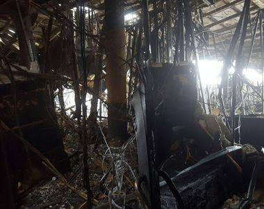 Cum arata acum clubul Bamboo. Primele imagini din interior dupa incendiul devastator