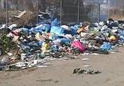 Munti de gunoaie, in Floresti. Comuna de langa Cluj-Napoca este sufocata de deseuri