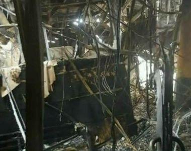 Ancheta incendiului de la Bamboo bate pasul pe loc pentru ca nu se poate intra in club...