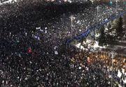 Protest cu incidente, miercuri noapte in Bucuresti. 100 de ultrasi au fost arestati. Cativa au recunoscut ca au fost platiti. SRI anuntase MAI despre prezenta huliganilor